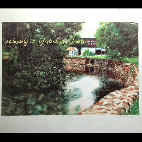 MONOCACY WALL LE Signed Numbered Print by Heberling