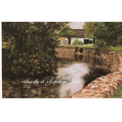 MONOCACY WALL Limited Edition Print