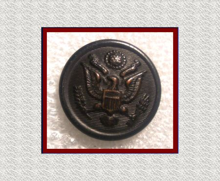 Unique Art Mfg. U S Eagle Button