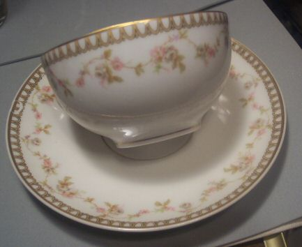 Theodore Haviland Limoges France Cup and Saucer