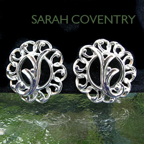 Sarah Coventry Fancy Free Clip Earrings