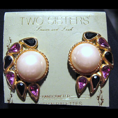 Two Sisters Parisian Palettes Earrings