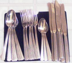 International Silver Bijou Service for Four