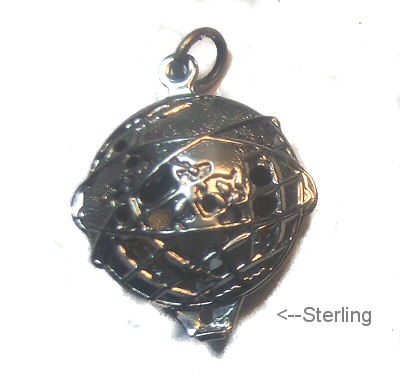 1960s World's Fair Hemisphere Sterling Charm