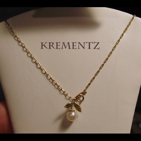Krementz GF Cultured Pearl Necklace