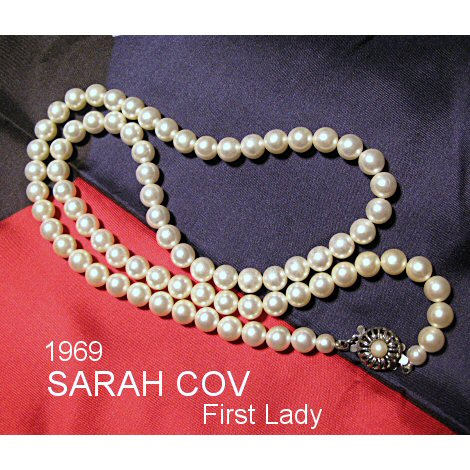 Sarah Coventry First Lady Faux Pearl Necklace