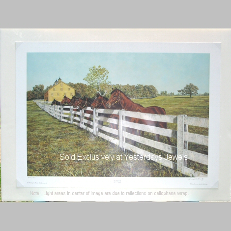 Jos L. Wantz Ltd Ed Hanover Shoe Farms 20 x 28