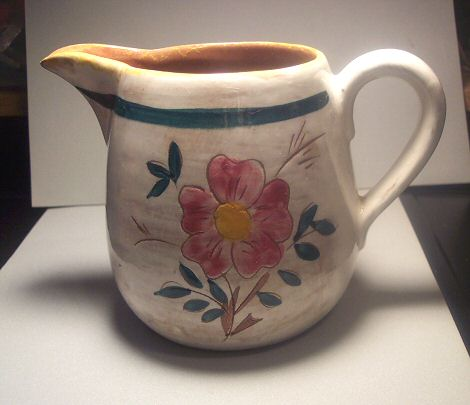 Stangl Terra Rose Garden Flower Pitcher